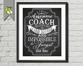 Softball Coach Appreciation gift Thanks for by TheArtyApples
