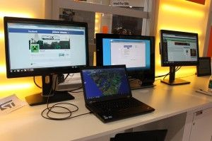 Need monitor displays for your computer, but don't have any more video ports in your computer? Daisy chain your monitors using a single DisplayPort output.