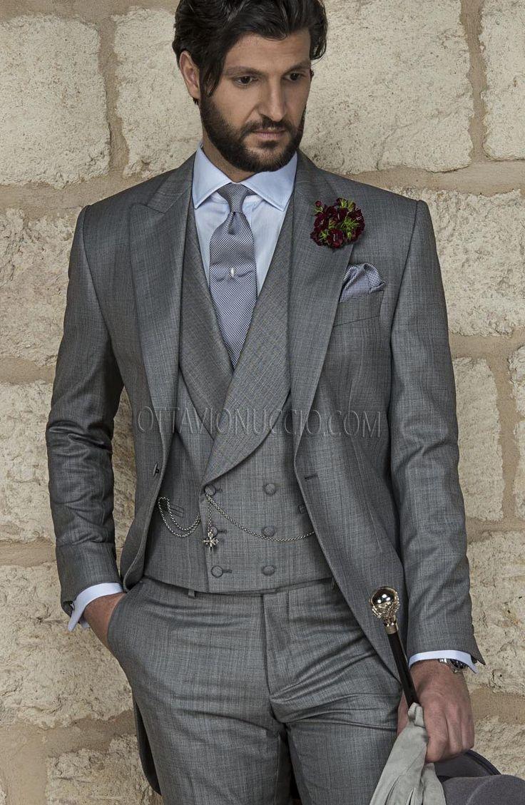 #MorningSuit Vintage Gentleman Collection http://www.ottavionuccio.com/it/completo/ongala-1196.html #Bespoke #MadeinItaly