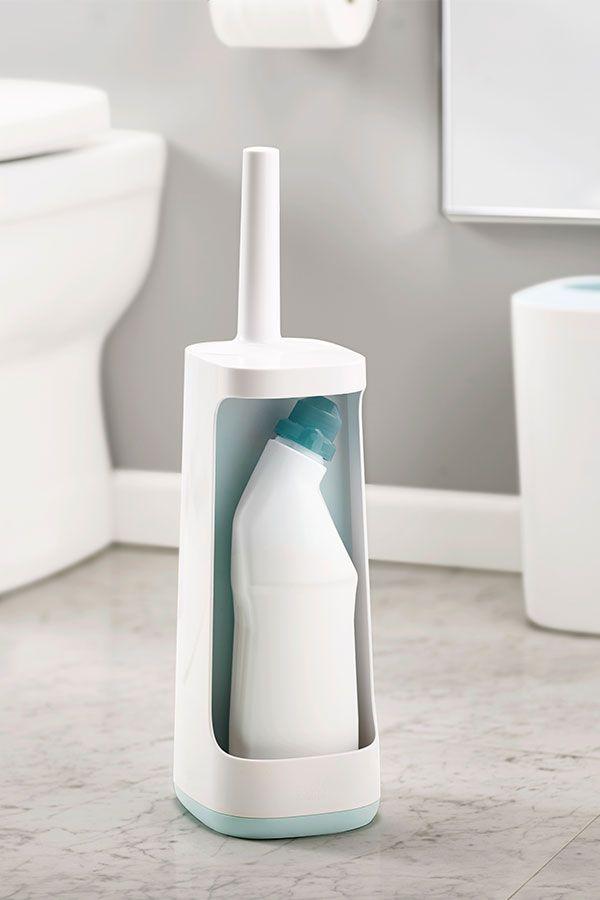 Joseph Joseph Flex Plus Toilet Brush Blue In 2020 Toilet Brush Storage Caddy Cleaning With Bleach