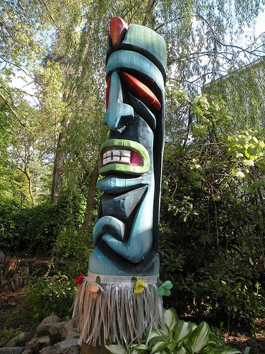Best images about tiki carving on pinterest