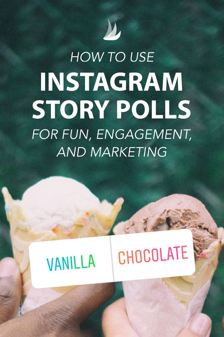 How to Use Instagram Story Polls for Fun, Engagement, and Marketing. Instagram Story Polls make it even easier to get more engagement and increase the reach of your content. Here's how to make the most of them. #instagrammarketing #instagrammarketingtips  #instagramstrategy #marketingstrategy via @tailwind