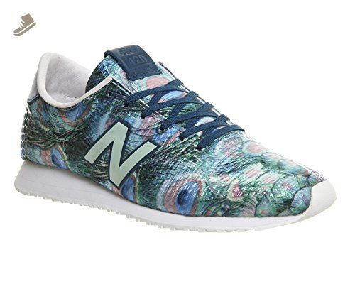 New Balance Wl420d Womens Trainers Green Multicolour - 4 UK - New balance sneakers for women (*Amazon Partner-Link)