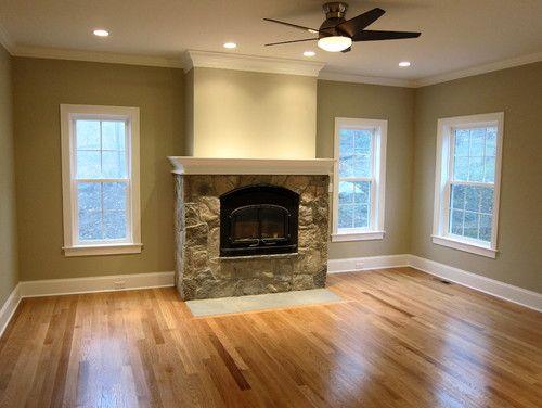 Wood Burning Fireplace Ideas, Fireplace tile
