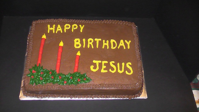 Birthday Cake For Jesus Tradition
