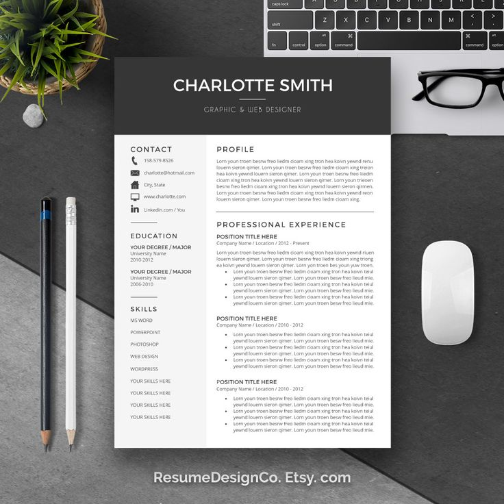 etsycom you can get high quality and professional resume cv templates wordresume