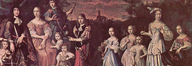 De borg Verhildersum en haar machtige vrouwen