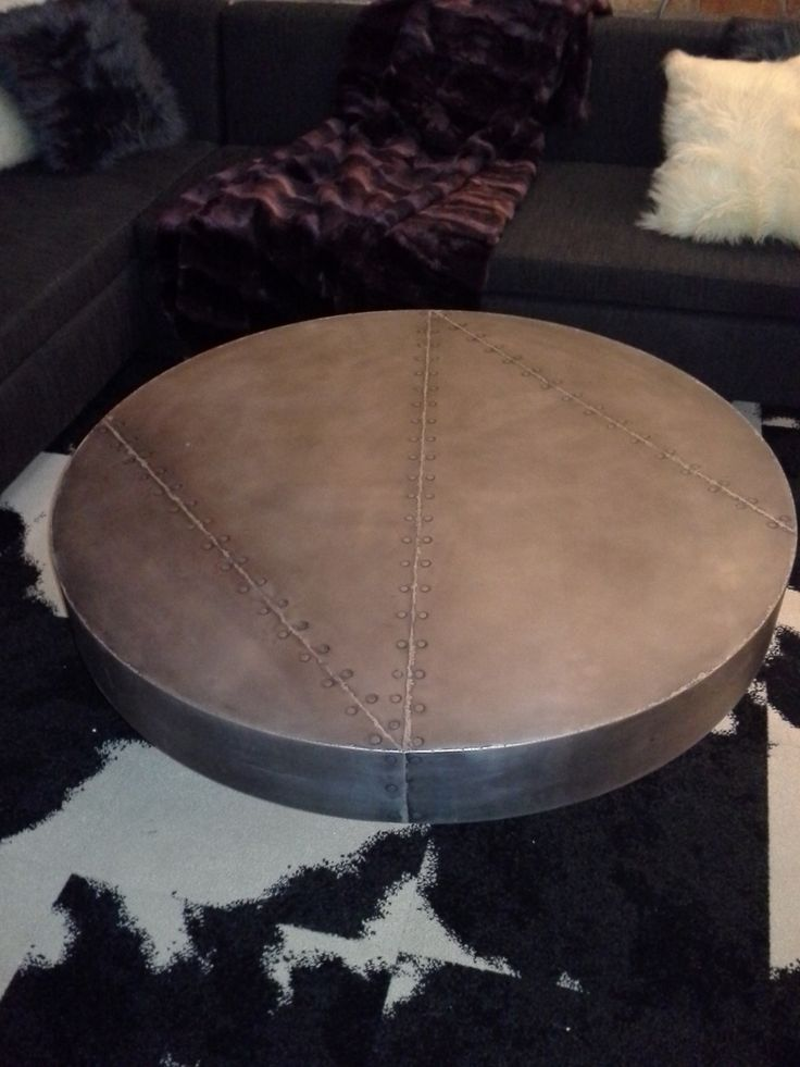 Custom Made Zinc Coffee Table