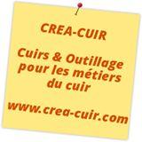 Créa cuir est le spécialiste de la vente d'outillage professionnel pour le travail du cuir, la maroquinerie, la sellerie, la teinture et la couture du cuir.