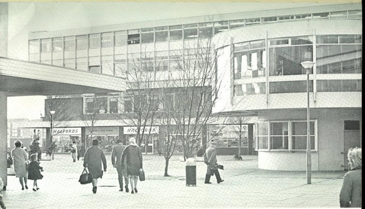 Anyone remember the 'Mushroom' that used  to be a key part of East Kilbride Shopping Centre.