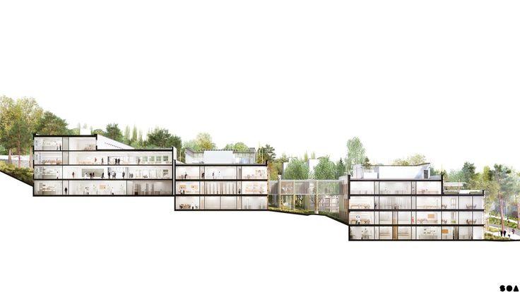 SOA Architectes Paris > Projets > CNRS Gif-sur-Yvette