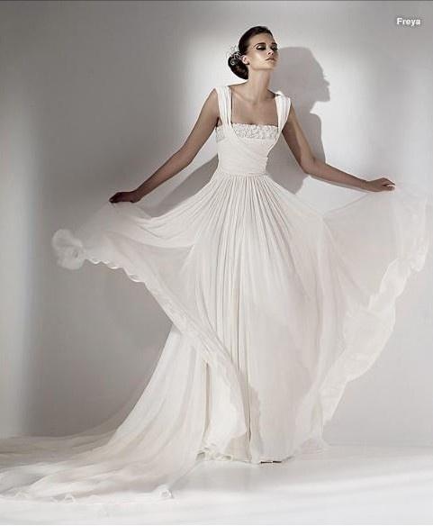 15 best Greek Style Wedding Gowns images on Pinterest Wedding