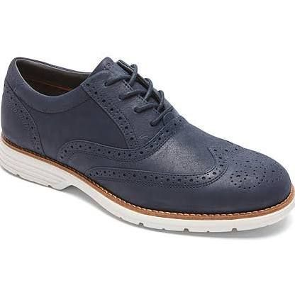 Rockport Total Motion Wing Tip - Men's New Dress Blues