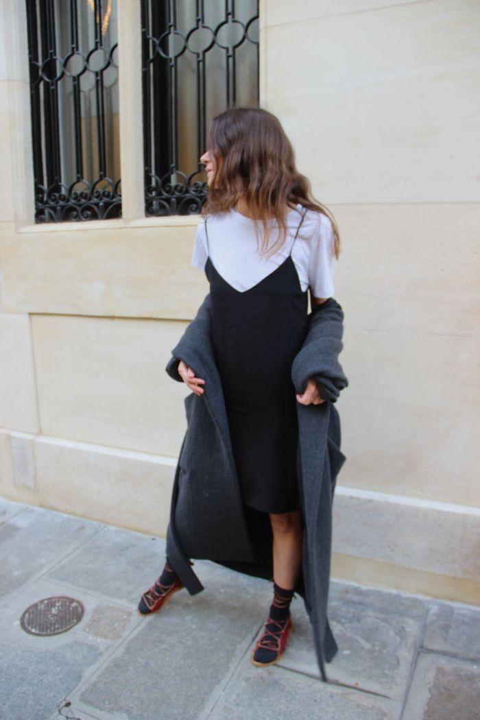 Marta: dress + t-shirt