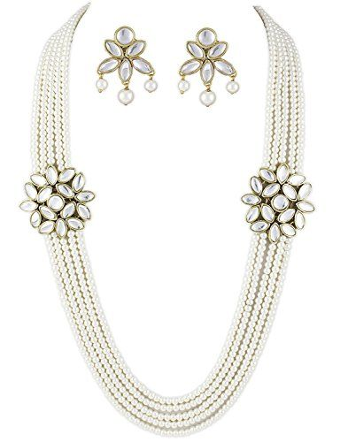 Bollywood Inspired Style 5-Line White Peals Double Kundan... https://www.amazon.com/dp/B01N8ZL0UW/ref=cm_sw_r_pi_dp_x_e9TFzbVHR9B8B