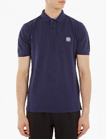 Stone Island Blue Regular-Fit Polo Shirt The Stone Island Regular-Fit Polo Shirt for SS16, seen here in blue. - - - Crafted from premium cotton with a unique textured finish throughout, this classic polo shirt is cut to offer a regular fit a http://www.MightGet.com/january-2017-13/stone-island-blue-regular-fit-polo-shirt.asp