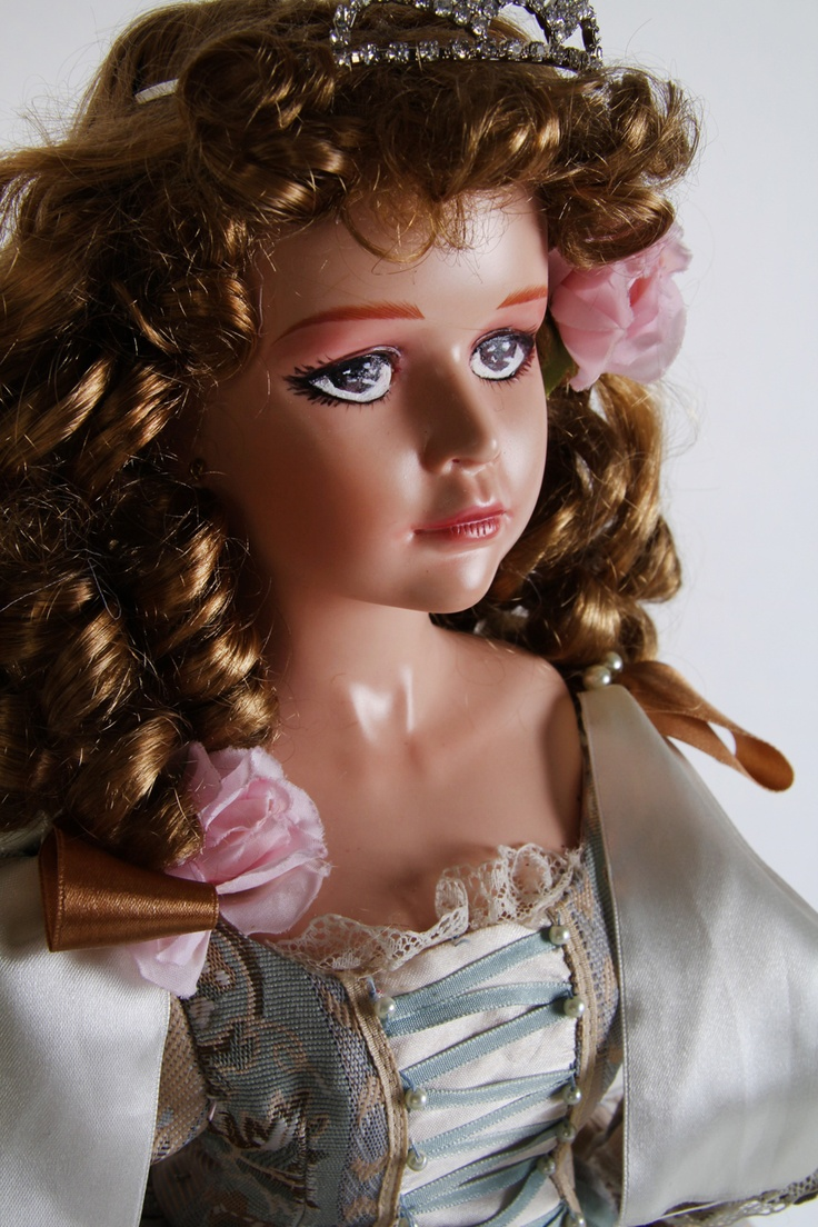 Frog Princess - an original art porcelain doll by sinestro (SK ART DOLLS).