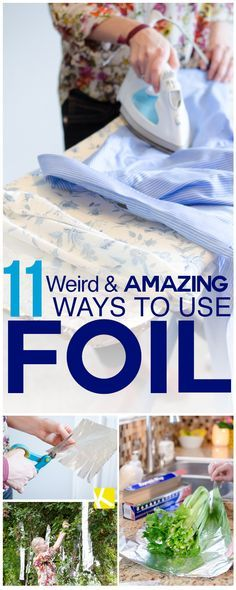 '11 Weird & Amazing Ways to Use Foil...!' (via The Krazy Coupon Lady)