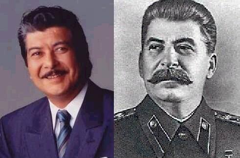 岡田真澄とスターリン【そっくり】どう見ても完全に一致!似てるとしか言いようがない画像11選 | COROBUZZ