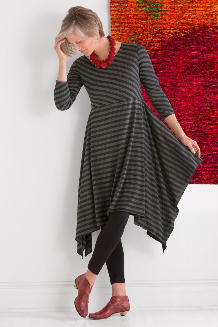 Nocturne Tunic Dress by Mariam Heydari (Knit Tunic)   Artful Home