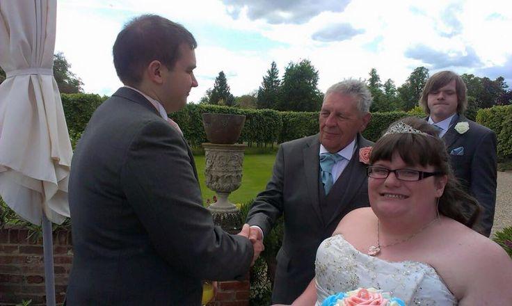 From Aldi To Harrods Wedding dad Chippenham Park