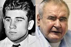 William Heirens was arrested in 1946 for the Lipstick murders of Chicago.  He spent 65 years in prison, being the longest serving prisoner in the US prison system until his death in March 2012.