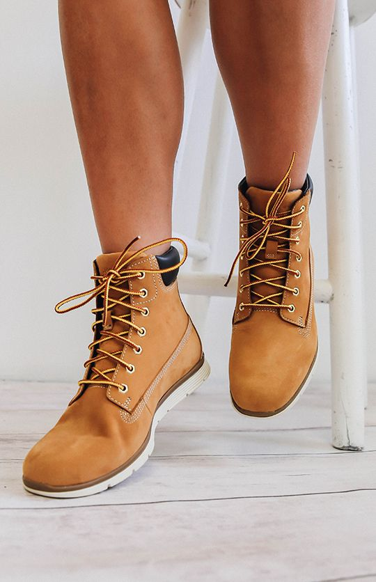 Timberland Womens 6-Inch Killington Boots - Wheat Nubuck from peppermayo.com