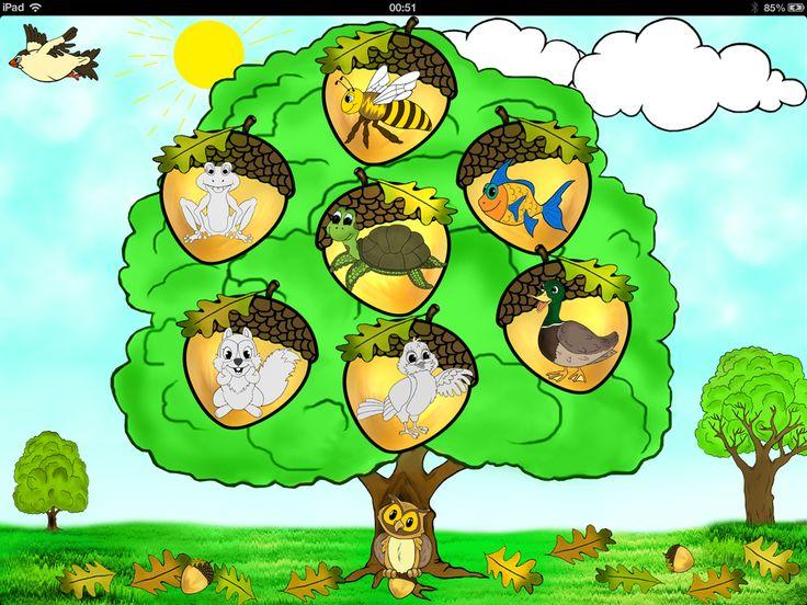 """Детская развивающая игра для iPad """"Веселые животные"""" (""""Joyful Animals for Kids"""")"""