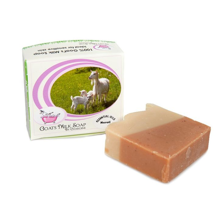 A creamy bar made with goat's milk, clay and refreshing Neroli essential oil.