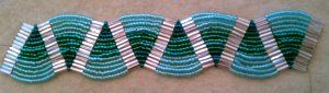 Ladder Stitch Bracelet Tutorial-Aquatic Waves at My-Amari.com