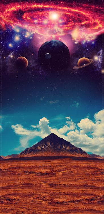 astronomy, outer space, space, universe, scenery, landscapes, stars, nebulas, galaxies, planets, moons, skies, clouds, mountains