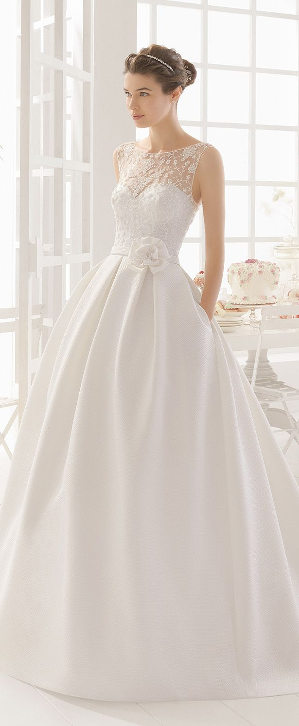 Aire Barcelona 2016 Wedding Dress - Belle The Magazine