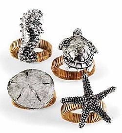Napkin rings #MarineLife