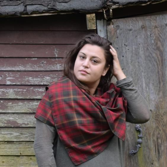 Canada's official tartan is the Maple Leaf Tartan. The tartan's rich hues are based on the changing colours of the maple tree through the seasons.  Wrap yourself up in this generously sized blanket scarf.  #mapleleaftartan #blanketscarf #madeincanada