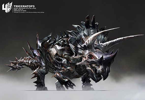 Transformers 4: Alternative Autobot and Dinobot Designs