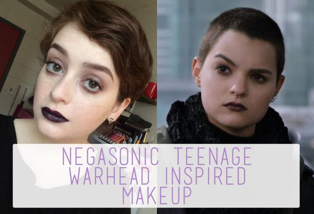 Negasonic Teenage Warhead Inspired Makeup. | The Rebel Planner