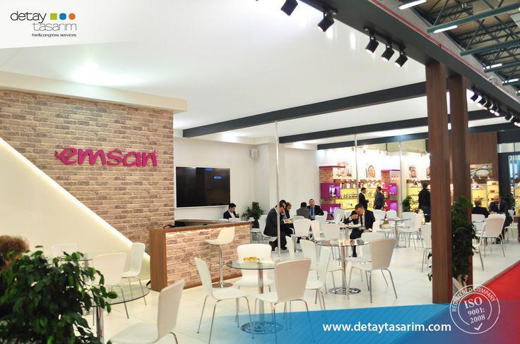 EMSAN / 620 m2 / Ideal Home 2016 / by Detay Tasarım; International Fair & Congress Contractor Services