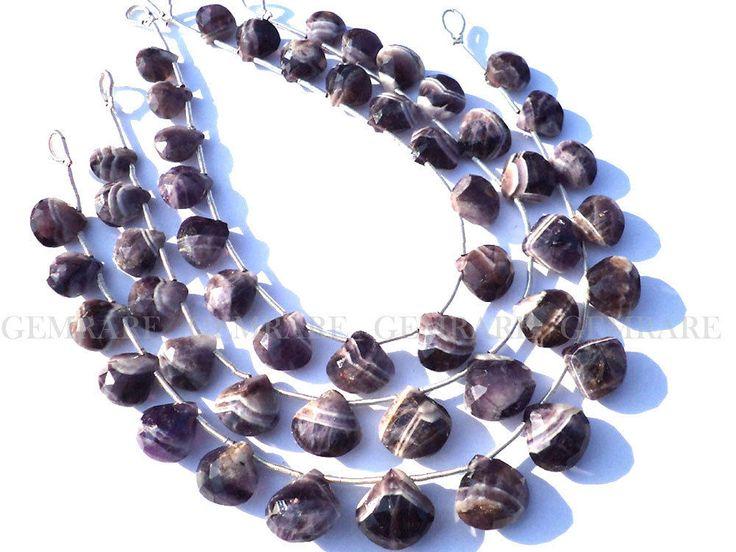 Bead, Amethyst Dogtooth Beads, Faceted Heart, (A), 16 pcs, AMETH-002/2 #amethystdogtoooth #amethystdogtoothbeads #bead #amethystdogtoothheart #facetedheartbeads #gemstone #gemrare #gemstonebeads #semipreciousstone #beadwork #beadstore #beadswholesaler
