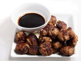 venison meatballs, a ground venison recipe using deer meat