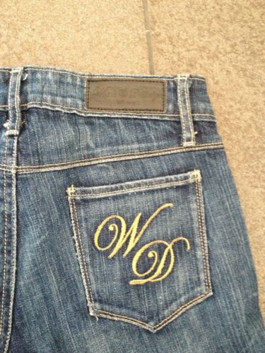 Ladies Wheels & Dollbaby Sunshine Denim Shorts - Size 26 - Now Selling! Click through to go to eBay Auction!