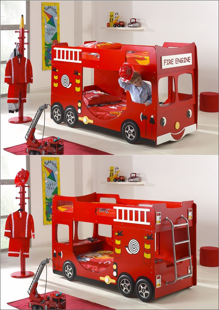 Bus and Truck Beds That Will Take Your Kids to a Journey