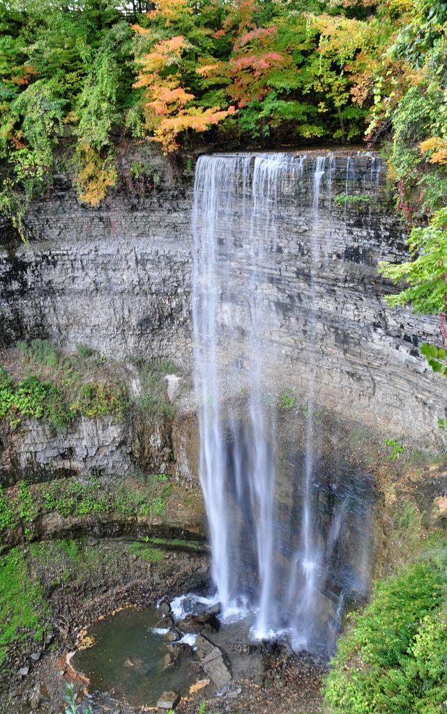 Tews Falls in Hamilton, Ontario - Canada