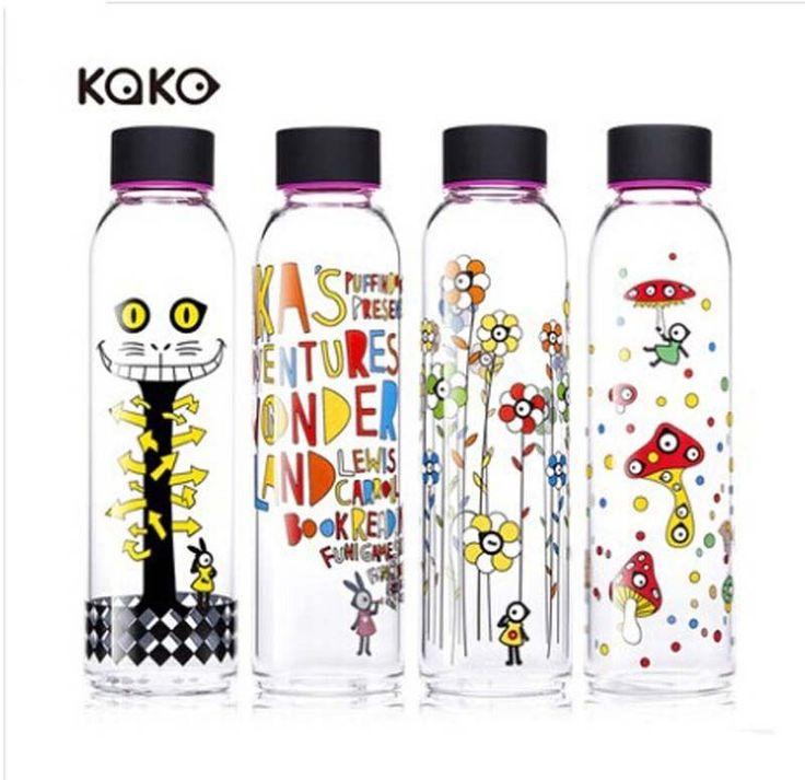 >> Click to Buy << Free Shipping New Fruit Juice Travel Bottle Hot Cold Glass Water Cupes Sport Drink Bottle 550ml #Affiliate