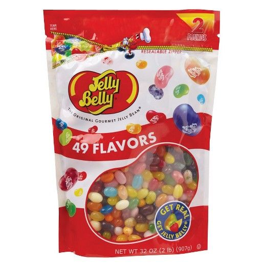 Jelly Belly Gourmet Jelly Beans 49 Flavors 2 lb : Target