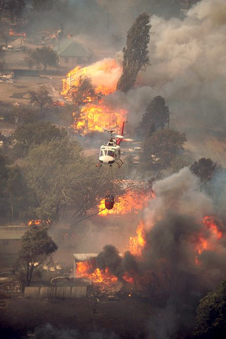 The Canberra Firestorm 18-1-2003 - this was a truly devastating bushfire that consumed homes in the suburbs of the capital of Australia.
