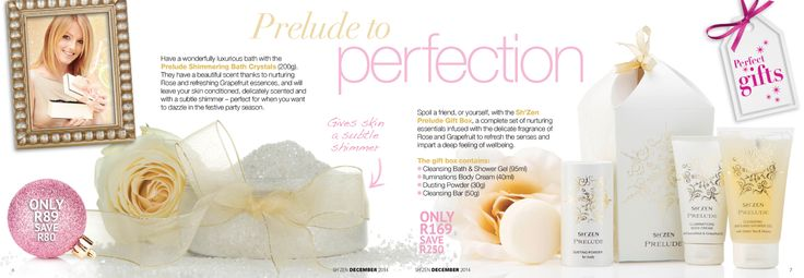 Prelude to perfection