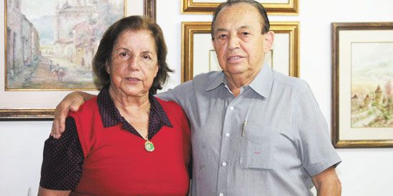 Luiza Trajano Donato e Pelegrino José Donato, fundadores do Magazine Luiza