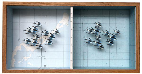 John Dilnot: Antiques Maps, John Dilnot, Art Design, Art And Design, Artists John, Birds Maps, Dilnot Coloss Art, Design Blog, Birds Boxes