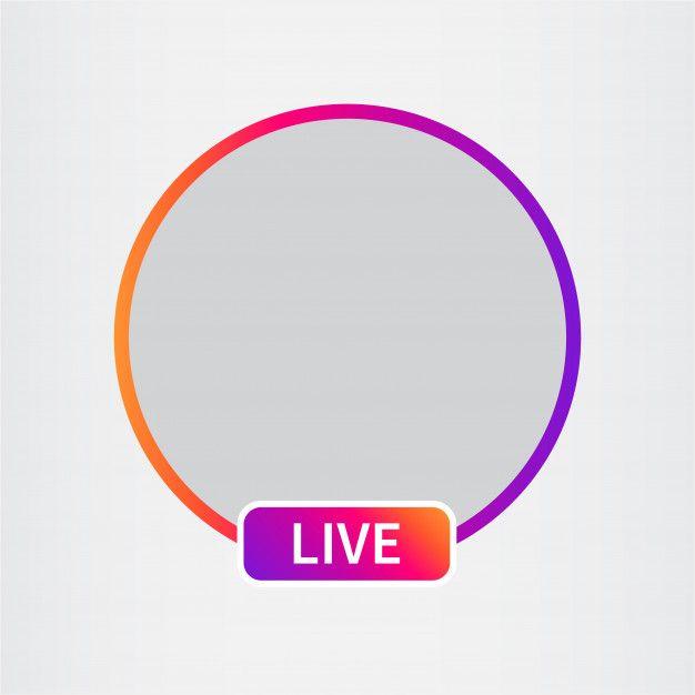 Social Media Icon Avatar Live Video Streaming Overlays Instagram Overlays Transparent Instagram Highlight Icons