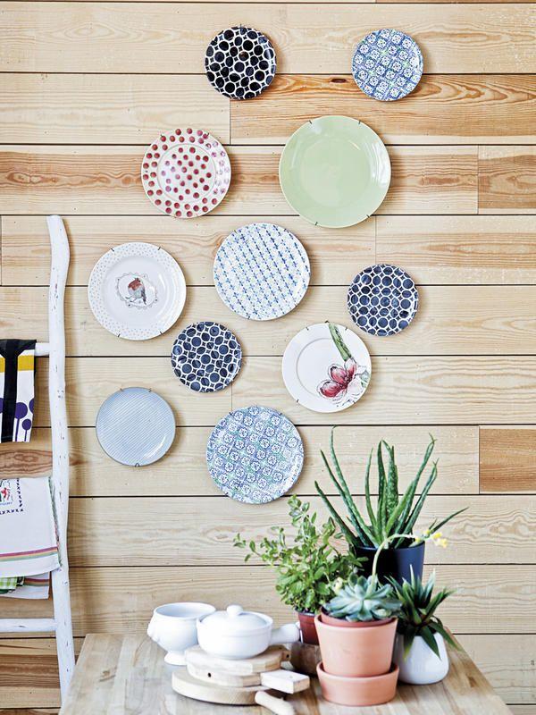 Ideas para decorar con mucho gusto e imaginaci n platos for Decoraciones de platos de cocina